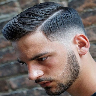 Side Parting haircut